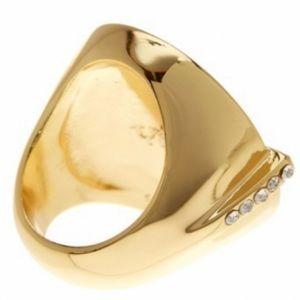 Trina Turk Jewelry - NWT Trina Turk Pave Bar Statement Ring - Sz: 8